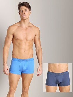 Calvin Klein Body 2-Pack Trunk Slate Stone/Aquarius Blue