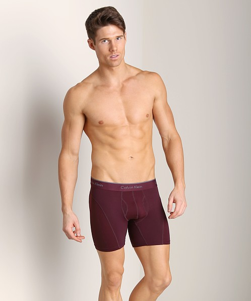 Calvin Klein Athletic Boxer Brief Cabernet