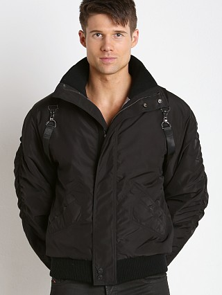 Nasty Pig Harness Bomber Jacket Black