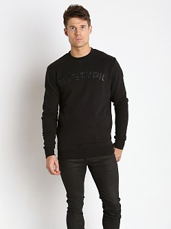 Nasty Pig Alumni Crewneck Long Sleeve Shirt Black