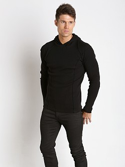 Nasty Pig Outliner Thermal Hoodie Black