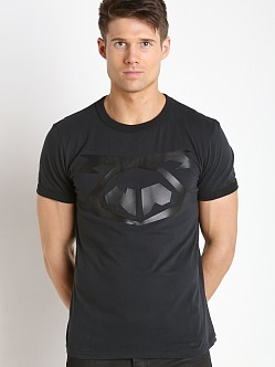 Nasty Pig Snout T-shirt Black