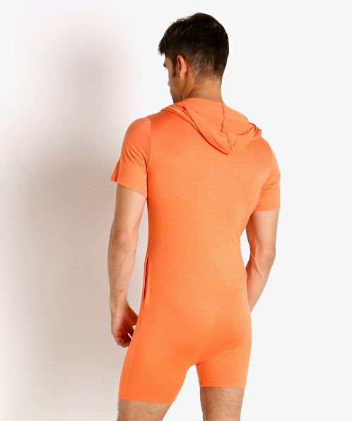 Go Softwear Body 2 Extreme Pocket Onesie Bodysuit Tangerine