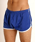 Rick Majors Pique Mesh Bulge Shorts Royal/White, view 3
