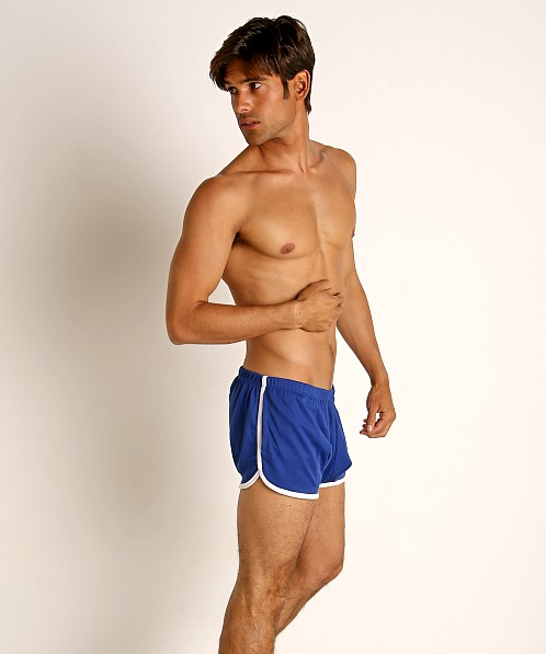 Rick Majors Pique Mesh Bulge Shorts Royal/White