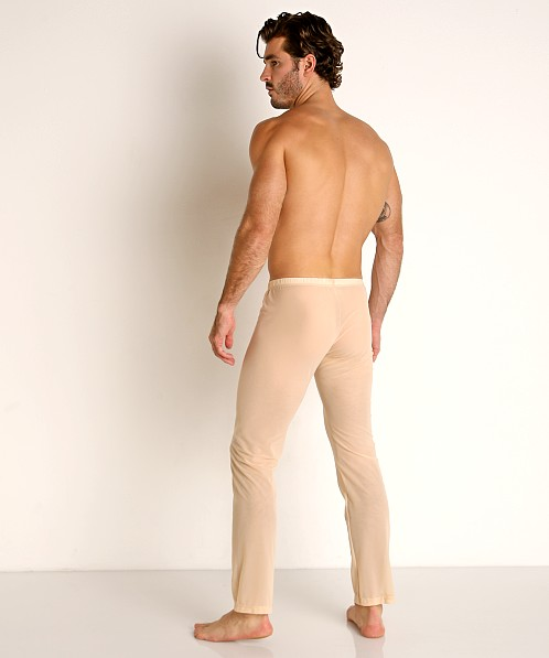 Rick Majors Sheer Mesh Lounge Pant Blush