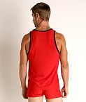 Nasty Pig Crews Tank Top Red, view 4