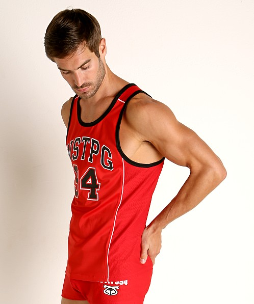 Nasty Pig Crews Tank Top Red