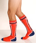 Nasty Pig Impulse Socks Orange, view 3