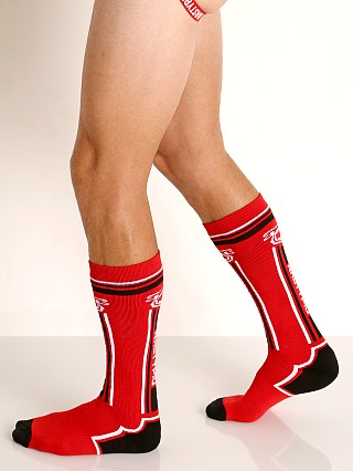 Nasty Pig Impulse Socks Red