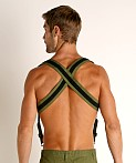 Nasty Pig Tracker Suspender Harness Green, view 4
