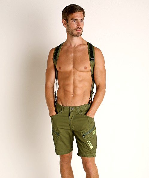 Nasty Pig Tracker Suspender Harness Green