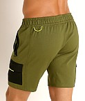 Nasty Pig Trail Short Green, view 4