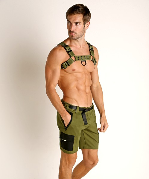 Nasty Pig Trail Short Green