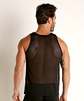 Cell Block 13 Midfield Mesh Tank Top Black, view 4