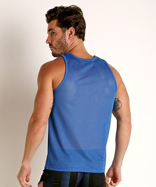 Cell Block 13 Midfield Mesh Tank Top Blue