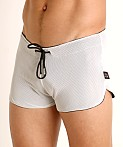 Cell Block 13 Midfield Mesh Reversible Short White/Black, view 3