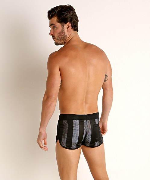 Cell Block 13 Midfield Mesh Reversible Short White/Black