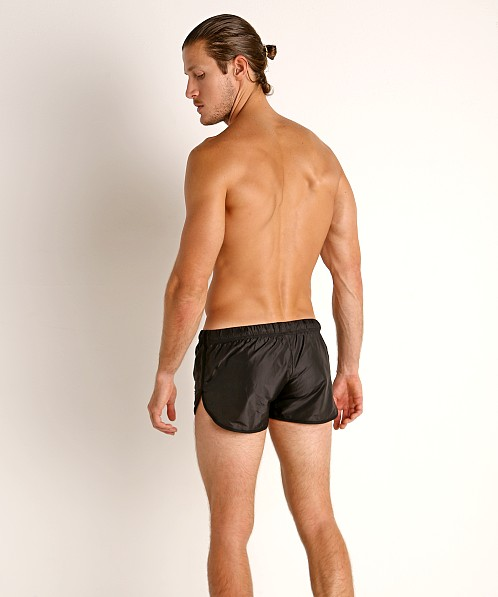 McKillop Ripstop Nylon Swim & Gym Shorts Black