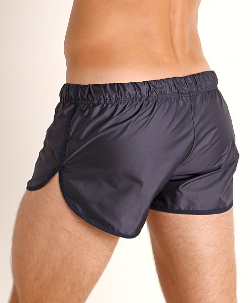 McKillop Drip Bolton Poly Swim and Gym Shorts Navy