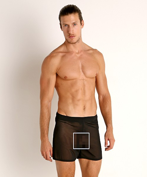 McKillop Push Ultra Stretch Mesh Fitness Shorts Black