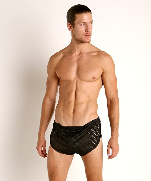 McKillop Glory Mesh Running Shorts Black