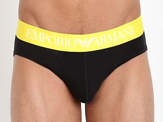 Emporio Armani Iconic Logo Band Brief Black