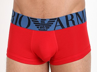 Complete the look: Emporio Armani Mega Logo Trunk Red
