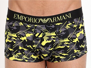 Emporio Armani Camo Eagle Trunk Lemon