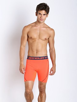 Under Armour Armourvent Mesh Compression Short Bolt Orange