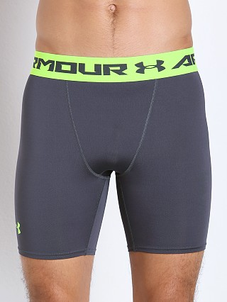 Under Armour Heatgear Armour Compression Short Stealth Grey