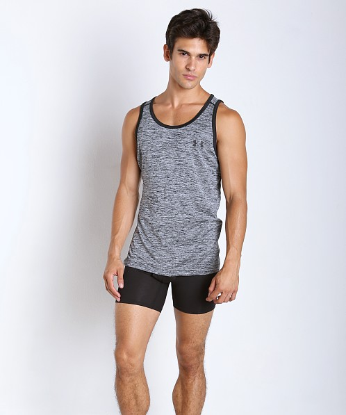 6a01574f5e9cf4 Under Armour Tech Tank Black Twist 1242793-006 at International Jock
