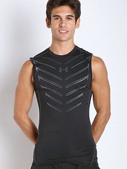 Under Armour Armour Exo Print Compression Tank Black