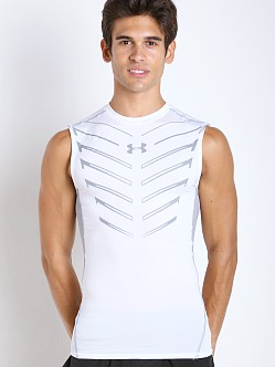 Under Armour Armour Exo Print Compression Tank White