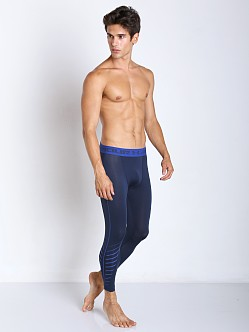 Under Armour Exo Print 3/4 Compression Legging Academy Blue