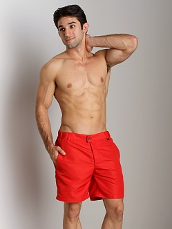 Hugo Boss Tigerfish Swim Shorts Red