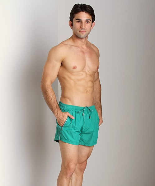 Hugo Boss Acava Swim Shorts Green