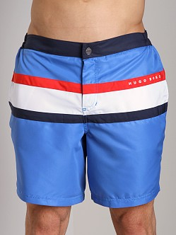 Hugo Boss Flagfish Swim Boxer Blue