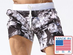 Rufskin Flomad Photoprint Microfiber Pocket Shorts