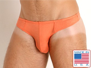 Model in orange Go Softwear Miami Heat Thong