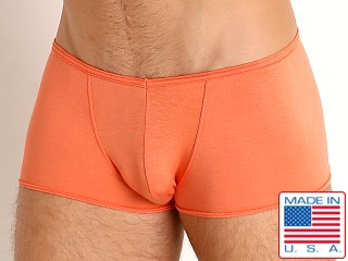 Model in orange Go Softwear Miami Heat V-Front Trunk