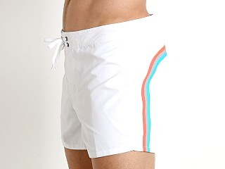 "Sundek 14"" Classic Low-Rise Boardshort White #24"