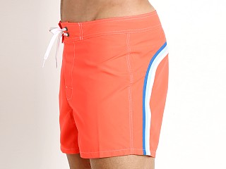 "Sundek 14"" Classic Low-Rise Boardshort Fluo Orange #7"