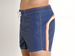 "Sundek 14"" Classic Low-Rise Boardshort Dark Blue #5"