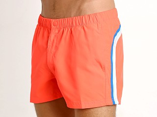 "Sundek 13"" Elastic Waistband Trunk Fluo Orange #7"