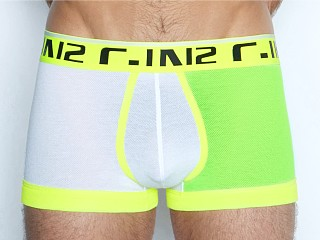C-IN2 Super Bright Army Trunk Yellow Dophine/White