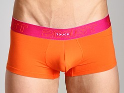 2xist Touch Ultra Contour Pouch No-Show Trunk Safety Orange
