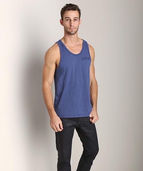 G-Star Baseball Tank Top Imperial Blue