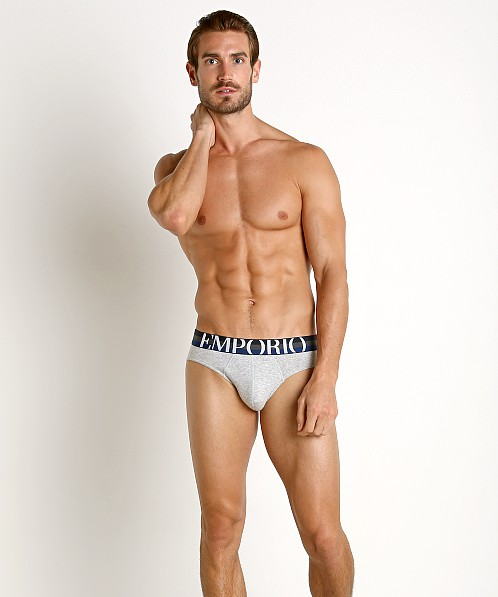 Emporio Armani Big Eagle Brief Melange Grey