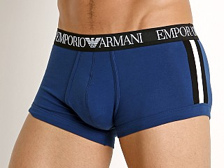 Emporio Armani Color Block Trunk Blue